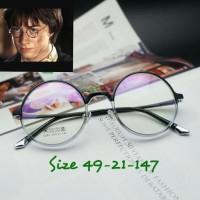 Frame Kacamata Harry Potter 6285 Twotone Kacamata Vintage Round Korea