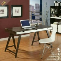 meja tulis minimalis kayu jati
