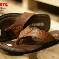 sandal pria kickers rempel concept brown sz 39-44 leather