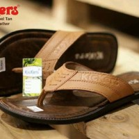 sandal pria kickers rempel concept leather tan sz 39-44
