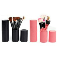 Kuas MakeUp Set 12 pcs 12pcs Make Up Brush Tabung Hankousi Nankousi