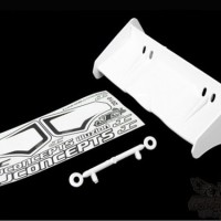 0113 JConcepts Illuzion- 1/8th Buggy/Truggy wing, white