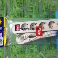 Stop Kontak Kabel Dexta 3 Meter 5 Lubang