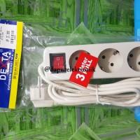 Stop Kontak Kabel Dexta 3 Meter 3 Lubang