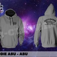 HOODIE JUMPER DEUS EX MEACHINA PART AND SERVICE WARNA ABU - ABU