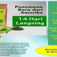 TERBARU   KOPI GREEN COFFEE HIJAU PELANGSING TUBUH REAKSI CEPAT 200 Gr