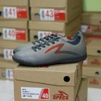 Sepatu Futsal Specs Eclipse IN (Charcoal/Dark Granit)