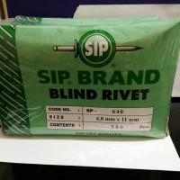 (Murah) Paku Rivet brand SIP 640