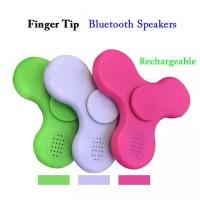 PROMO Fidget Spinner BLUETOOTH AUDIO SPEAKER Lampu Toys Spiner
