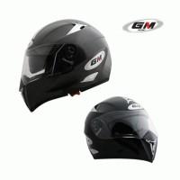 Terlaris Helm GM Airborne solid 2 Visor Berkualitas