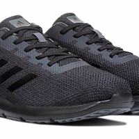 Sepatu Adidas Cosmic 2 Black Edition Running Sneakers - Original