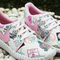 Sepatu Wanita Kets Nike Holland Lis Pink SP07