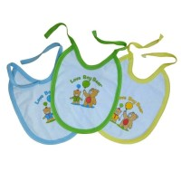 Slabber Celemek Bayi Anak Perlengkapan Newborn Lahir Baju Peralatan