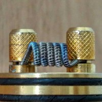 Prebuild Half Staggered Fused Clapton | Coil Vape | Khantal A1 | Ni 80