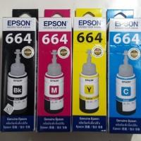 Paket Tinta Epson 664 [B.C.M.Y] Original
