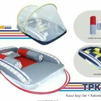 Kasur Bayi Set + Kelambu Line Series SNOBBY 1691