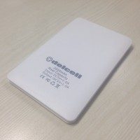 World Slimmest Power Bank Delcell Ultra Thin 2000mAh Real Capicity Ori