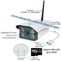 (Murah) CCTV Wifi Outdoor HD960P Waterproof Smart Wireless IP Camera