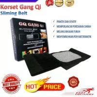 (Diskon) Size XXL Sabuk Pelangsing Tubuh Gang Qi Slimming Belt - Hitam