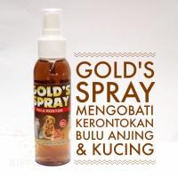 Spray Obat Perawatan Bulu Rontok Grooming Mandi Hewan Anjing Kucing
