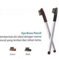 Wardah Eyebrow Pencil with Brush Original - Pensil Alis + Sikat