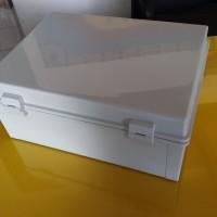 HIBOX box panel elektronik listrik lampu power plastik 300x400x170 mm