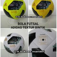 Bola Futsal ADIDAS TELSTAR RUSSIA Textur Bintik Import