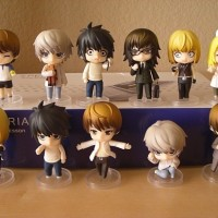 Action Figure PVC Mini Chibi Petit Set Anime Death Note