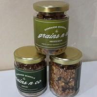 (Diskon) Grains N' Co Homemade Granola (Peanut Butter Choco Chip)