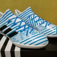 Sepatu Futsal Adidas Nemeziz 17.3 AGILITY BANDAGE White Blue