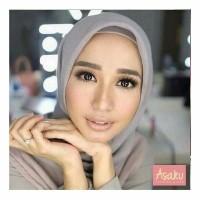 Jilbab segiempat double hycon/hijab segiempat rawis polos RAWIS SQUARE