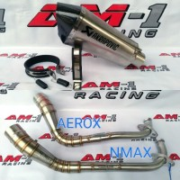 Knalpot Racing Akrapovic Short Yamaha NMAX Abs AEROX R 155 Full System
