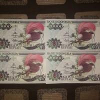 UANG KUNO UANG MAHAR Rp. 20000 Cenderawasih 1992