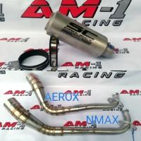 Knalpot Racing SC Project Sandblast Yamaha NMAX Abs AEROX R 155 Full