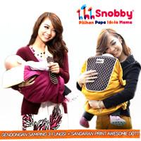 Gendongan Bayi Samping Snobby dg 3 Fungsi + Sandaran / Snobby TPG 1442