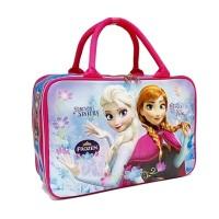 Travel Bag Anak Bahan Sponsuper besar 40cm Karakter Frozen