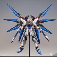 Bandai Original MG 1/100 Strike Freedom Gundam include stand base