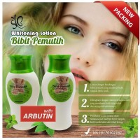 Lotion Bibit Pemutih Original BPOM / Whitening Hand Body With Arbutin