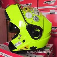 Helm Nolan N104 HI VISIBILITY Fluo Yellow Modular Touring masuk bro