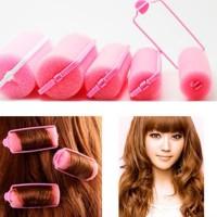 hair curler roll rambut pengikal rambut (isi12)