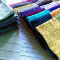 bandana ciput rajut 2 warna