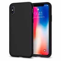 Spigen iPhone X Case TPU Liquid Crystal