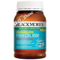 Vitamin / Blackmores Odourless 200 kapsul / Fish Oil 1000mg