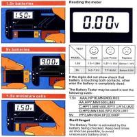 Digital Universal Battery Tester BT-168D for 9V, 1.5V, Diskon