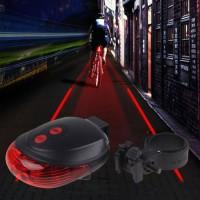 Lampu Sepeda Laser Tail Light Murah