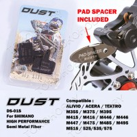 Brakepad Shimano Alivio Acera Tektro Merk Dust Kampas R Limited