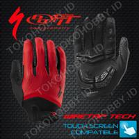 Sarung Tangan Sepeda   SPECIALIZED BG WIRETAP   Merah Murah