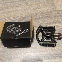 Flat Pedal Polifly DEAD GAMBA Sealed Bearing Limited