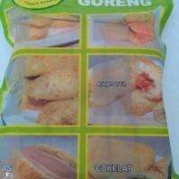 Roti goreng Diva isi Ayam sayur