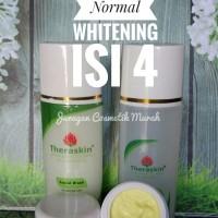 THERASKIN PAKET NORMAL WHITENING ISI 4/ PAKET PEMUTIH & PENCERAH WAJAH